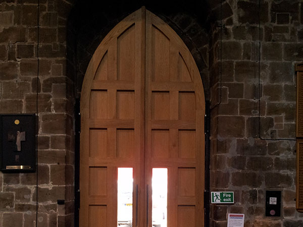 St Marks Oak Church Doors